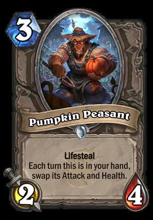 Pumpkin Peasant Card