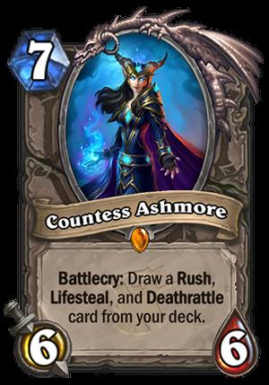 Countess Ashmore Hearthstone Card