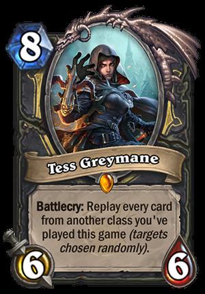 Tess Greymane Card