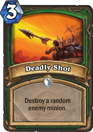 Deadly Shot Card
