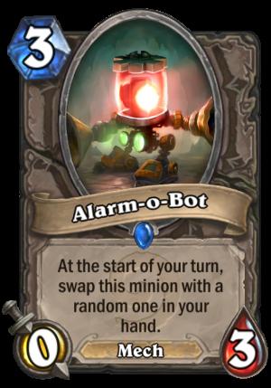 Alarm-o-Bot Card