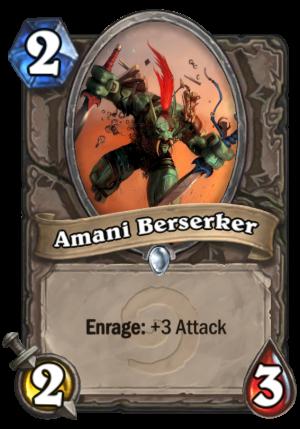 Amani Berserker Card
