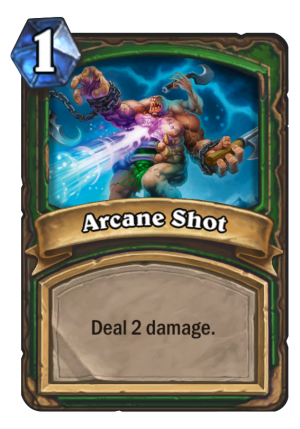 Arcane Shot Card