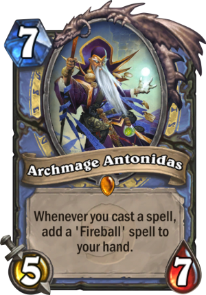 Archmage Antonidas Card