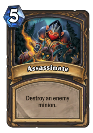 Assassinate Card