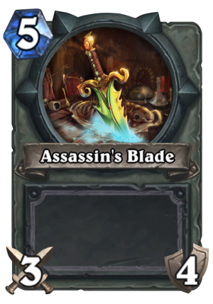 Assassin's Blade Card
