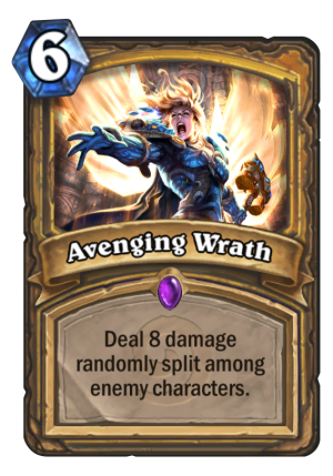Avenging Wrath Card