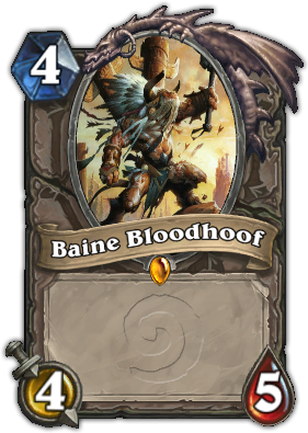 Baine Bloodhoof Card