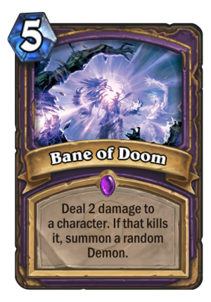 Bane of Doom Card
