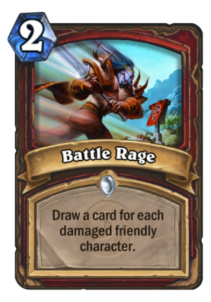 Battle Rage Card