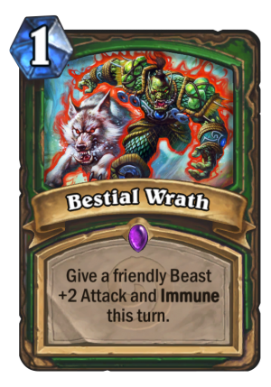 Bestial Wrath Card
