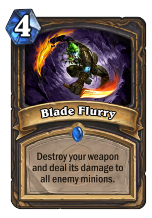 Blade Flurry Card