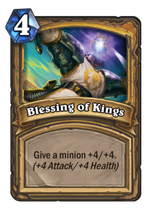 Blessing of Kings Card