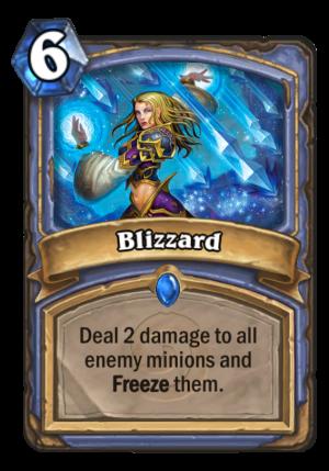 Blizzard Card