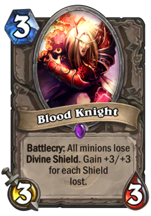 Blood Knight Card