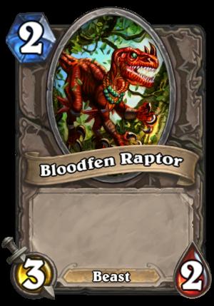 Bloodfen Raptor Card