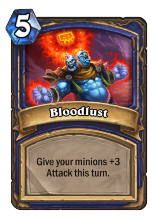Bloodlust Card