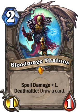 Bloodmage Thalnos Card