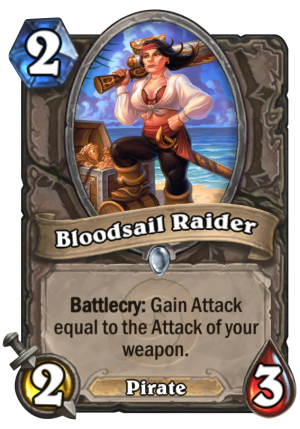 Bloodsail Raider Card
