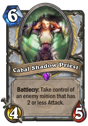 Cabal Shadow Priest Card