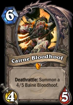 Cairne Bloodhoof Card