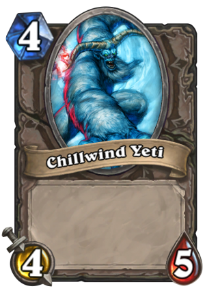 Chillwind Yeti Card