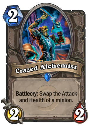 Crazed Alchemist Card