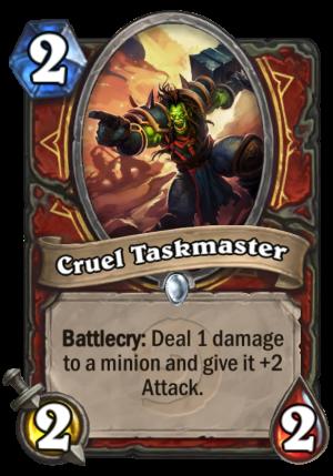 Cruel Taskmaster Card