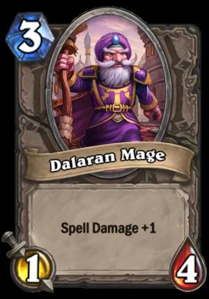 Dalaran Mage Card