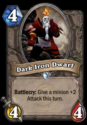 Dark Iron Dwarf Card