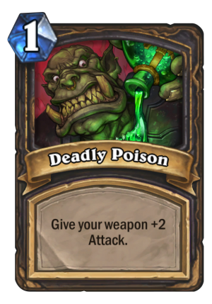 Deadly Poison Card
