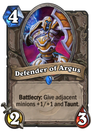 Defender of Argus Card