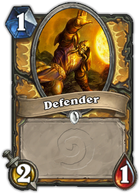 Defender Card