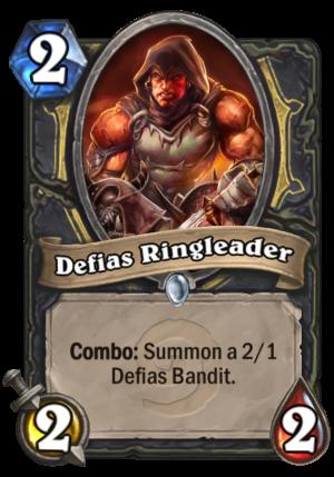 Defias Ringleader Card