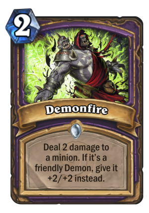 Demonfire Card
