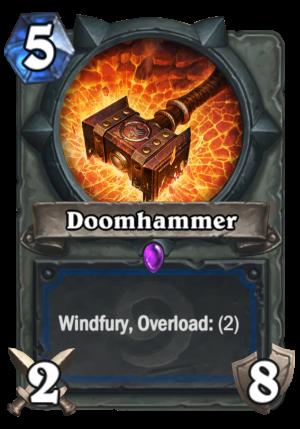 Doomhammer Card
