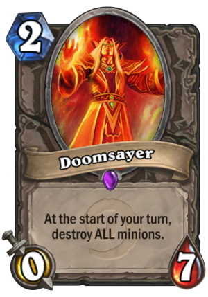 Doomsayer Card