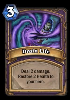 Drain Life Card