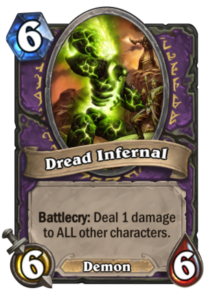 Dread Infernal Card