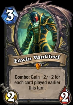 Edwin VanCleef Card