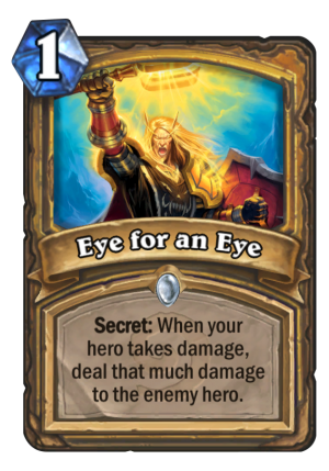 Eye for an Eye Card