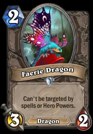 Faerie Dragon Card
