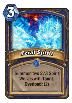 Feral Spirit Card