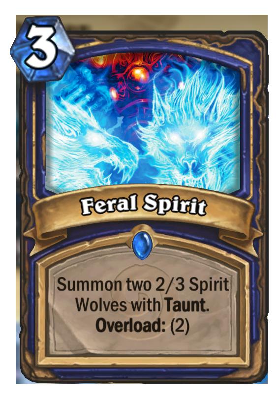 Feral Spirit - Hearthstone Card - Hearthstone Top Decks