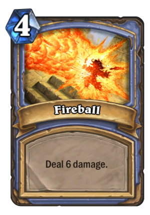 Fireball Card