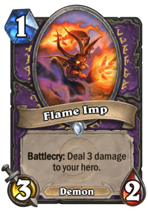 Flame Imp Card