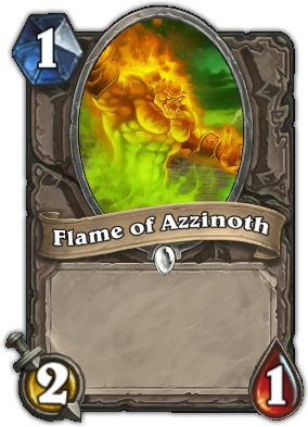 Flame of Azzinoth Card