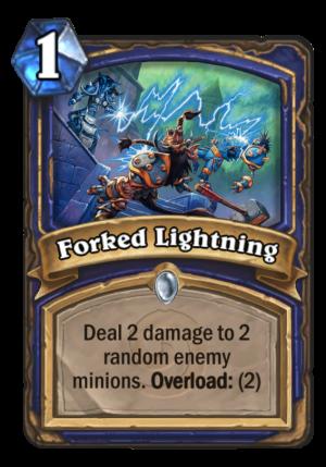Forked Lightning Card