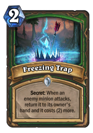 Freezing Trap Card