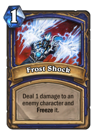 Frost Shock Card